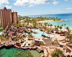 Disney's Aulani Resort and Spa on the island of Oahu - Hawaii.