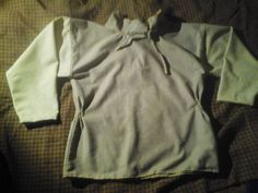 Guddal shirt from wool made by handsewn with linen thread.