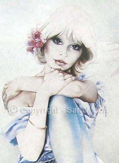 Sara Moon - Blue Eyes - Close