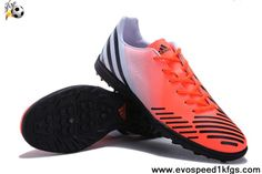 Cheap Discount Orange-Red-Black Adidas Predator LZ TRX TF Football Shoes Store
