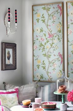 Wallpaper is all the rage these days. Looking for some unique wallpaper ideas? I've rounded up 6 unique ways to use wallpaper in your home!