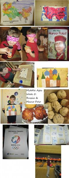 Middle Ages Week Traveling with Marco Polo, Medieval Russia: food and craft, and Winter Olympics lapbook. Russia Food, Middle Ages History, Story Of The World, Marco Polo, Week 5, Winter Olympics, Indie Brands, Medieval, Traveling
