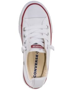 db0a11b4364 Converse Little Girls  Chuck Taylor Shoreline Casual Sneakers from Finish  Line - White 13 Girls