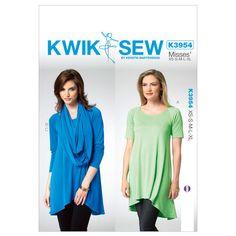 Mccall Pattern K3954 All Sizes -Kwik Sew Pattern