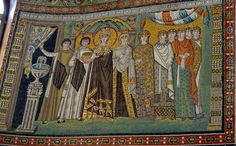imperatriz Teodora e seus servos e servas