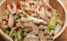 Легкий салат с куриной грудкой и болгарским перцем | Поварёнок | Яндекс Дзен