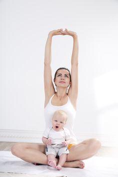 After-Baby-Body: Geniale Ideen für dein Workout mit Baby!