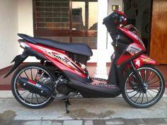 Modifikasi Motor Honda Beat Pgm F1 Nyubull Cn