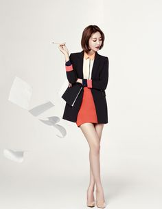 Go Jun-hee for Mind Bridge Fall 2013 Campaign