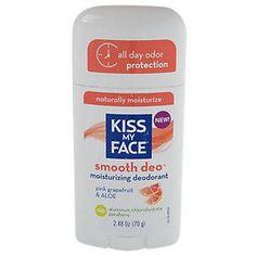 Kiss My Face Deodorant Fresh Smoothie Pink Grapefruit And Aloe Stick 2.48 Oz