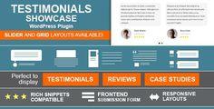 CodeCanyon - Testimonials Showcase-WordPress Plugin Free Download