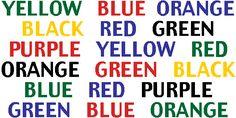 Color Confusion - AbcArcade.com