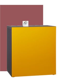 Pantone 2015 Color of The Year - The golden yellow color of the BESTÅ TOFTBO shelving unit coordinates well with the hearty red-brown tones of Marsala. Golden Yellow Color, Orange Color, Pantone 2015, Yellow Interior, Colour Pallette, Color Of The Year, Marsala, Shelving, Ikea