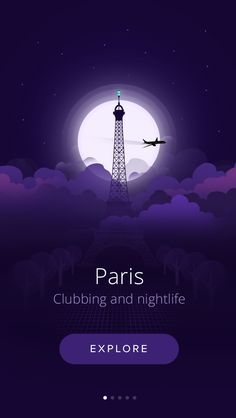 City At night  I chose this pattern due to the royal purple color and the scenery of Paris.