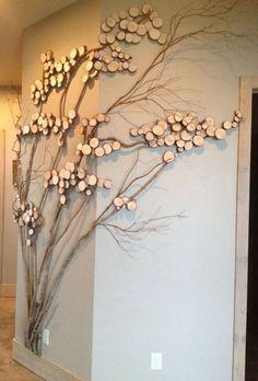 Rame de tablou - proiecte inedite din ramuri de copaci 15 idei inedite de a infrumuseta locuinta cu rame de tablou realizate din crengi de copac. Proiecte inedite realizate din rame de tablouri http://ideipentrucasa.ro/rame-de-tablou-proiecte-inedite-din-ramuri-de-copaci/