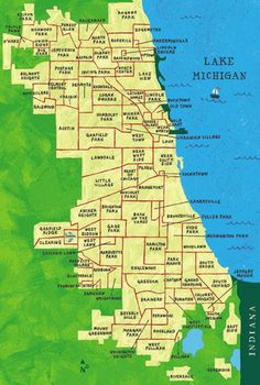 """The neighborhoods of Chicago"" Now for me, Downtown Chicago is The Loop, part of the near north & south sides, and the Gold Coast. In other words, 990 N Michigan & Oak St to 2000 S Michigan to I55 (The Stevenson), West to I90 & I94. Both eastbound to LSD (Lake Shore Drive).  When you leave this area, you're in the neighborhoods. If you're at Wrigley Field, you are in Wrigleyville (not downtown). If you're at Comiseky Park, you're in Bridgeport."