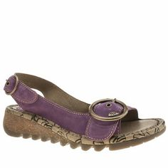 Fly London Purple Tram Sandals at Schuh