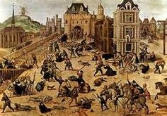 Religious Wars in France- (1562-1598) conflicts in France between Protestants and Roman Catholics. The spread of French Calvinism persuaded the French ruler Catherine de Medicis to show more tolerance for the Huguenots, which angered the powerful Roman Catholic Guide family.