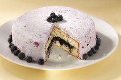 Blueberry-Lemon Layer Cake - San Francisco Chronicle (may need subscription for access = Amanda Gold)