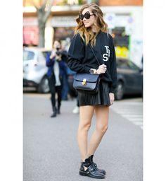 Des bottes ajourées, beau look de la Fashion Week automne hiver 2014-2015