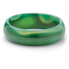 Palm Beach Jewelry PalmBeach Genuine Green or Brown Chalcedony Bangle... (2.220 RUB) ❤ liked on Polyvore featuring jewelry, bracelets, brown, green bangles, bracelets bangle, fancy jewellery, beach jewelry and fancy jewelry