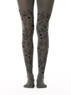 c7d7d667e4 I Love Bikes, I love my bicycle tights for cycling lovers. Collant Fantasia,