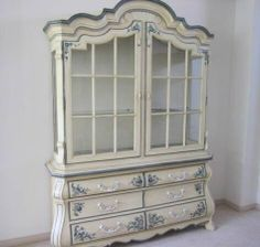Vintage French Provincial buffet & Hutch by by ProvincialbutFrench ...