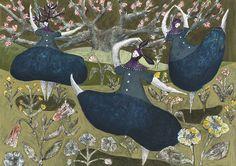 Dance   Tetsuhiro Wakabayashi Illustration