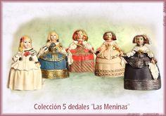 Dedales con Figuras - Dedales de colección. Un sitio de Gritos de Madrid.