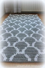 - [board_name] - Teppich Crochet Doily Rug, Crochet Rug Patterns, Crochet Carpet, Tapestry Crochet, Crochet Home, Beige Carpet, Diy Carpet, Rugs On Carpet, Knit Rug