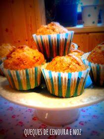 donabimby: Queques de cenoura e Noz Cupcakes, Breakfast, Carrot Muffins, Cakes, Cuisine, Recipes, Ideas, Thermomix, Cupcake