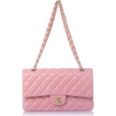 Pink Chanel Handbags and Purses