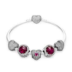PANDORA Radiant Heart Gift Bracelet