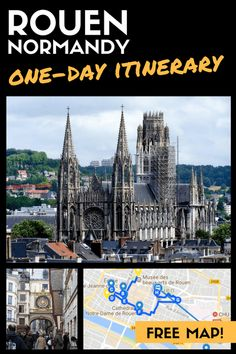 Rouen, a Picturesque Getaway in Normandy - Perfect Day Trip from Paris!
