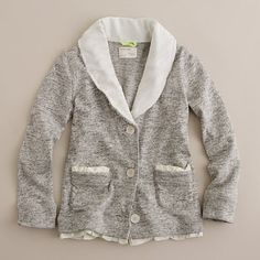 J. Crew Girls Shawl Cardigan