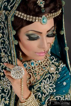 Make up by Arisas Makeovers Model: Shamila Nazir    Afsha Siddique   Makeup #beauty #bride