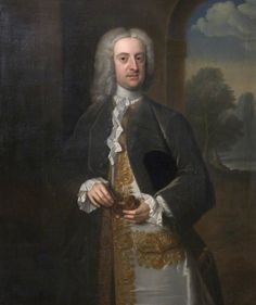 """John Walcot, MP"", attr. Thomas Hudson, ca. 1740; Plymouth City Council Museum and Art Gallery     PLYMG.1966.24"