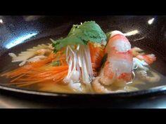 Astuce de chef: préparer un délicieux bouillon thaï aux gambas