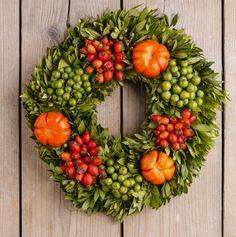 A Bounty of DIY Fall Wreaths