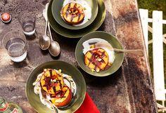 Grilled Peaches, yum