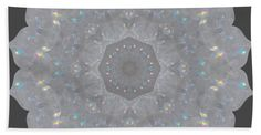 Decorate your bathroom and dry yourself off with our luxuriously soft bath towels and hand towels. Our towels are made from brushed microfiber with a 100% cotton back for extra absorption. The top of the towel has the image printed on it, and the back is white cotton. Available in three different sizes: hand towel, bath towel, and bath sheet. CARE INSTRUCTIONS: Machine wash cold and tumble dry with low heat. #kaleidoscope #mandala #abstract #geometric #pattern #reiki #towel #beachsheet…