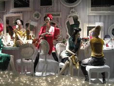 """HOLT RENFREW,Toronto, Canada, """"Holts for The Holidays"""", pinned by Ton van der Veer"""