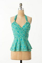Swathed Sprouts Halter