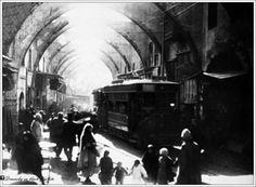 سيباط سوق السنانية والتراموي 917-1918.