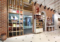 Замечательная лавка со специями Spices India от Four Dimensions Retail Design, Индия