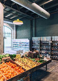 Une épicerie aux mille et un produit BIO - Marie Claire Maison