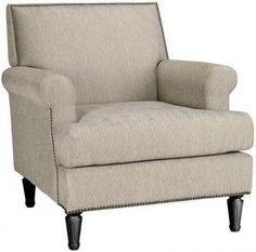 Martha Stewart Living Ingrid Upholstered Arm Chair -- On Sale $370