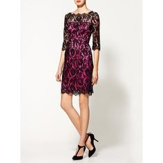 Milly Stella Dress ($305) ❤ liked on Polyvore