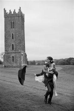 Capturing a beautiful moment with one of our happy couples at The Tyrconnell Tower.