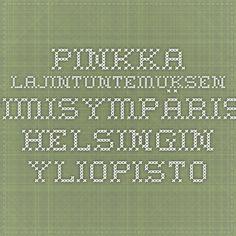 Pinkka - Lajintuntemuksen oppimisympäristö, Helsingin yliopisto